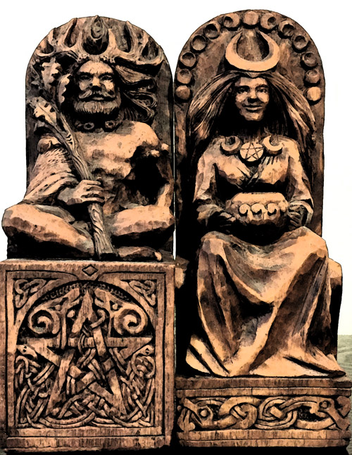 The Wiccan Lord and Lady